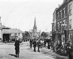 Picture of Co Durham - Darlington, Market Place 1910s N1199