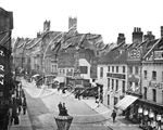 Picture of Lincs - Lincoln High Street c1890s - N928