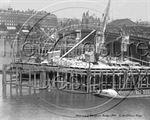 Picture of London - Blackfriars Bridge Widening c1908 - N591