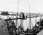 Picture of Suffolk - Lowestoft Harbour c1890s - N1550