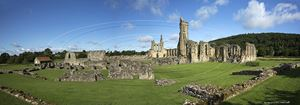Picture of Yorks - Byland Abbey Panorama 2014 - N2935
