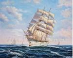 Picture of Seascapes - Sailing Clipper Scene - O034