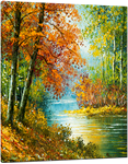 Picture of Landscapes - Colourful River Scene - O078