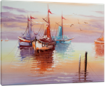 Picture of Seascapes - Fishing Boats - O081